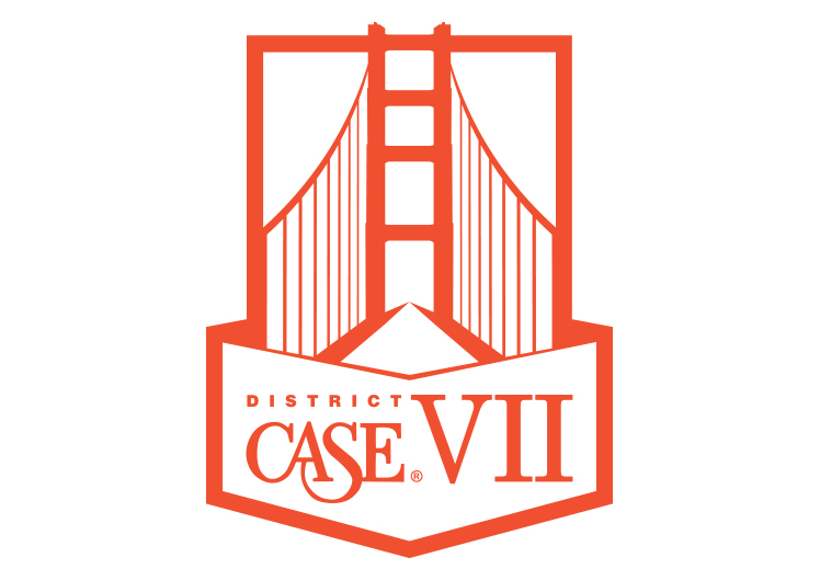 CASE District VII - 1 color logo