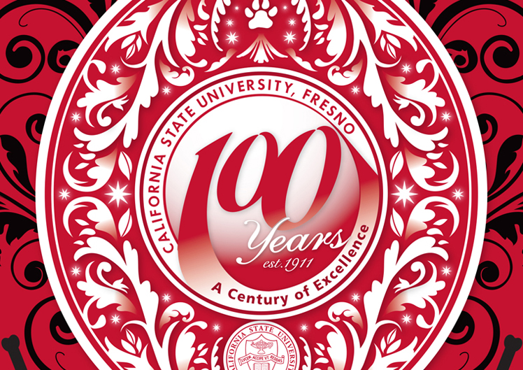 Fresno State Centennial Holiday Card