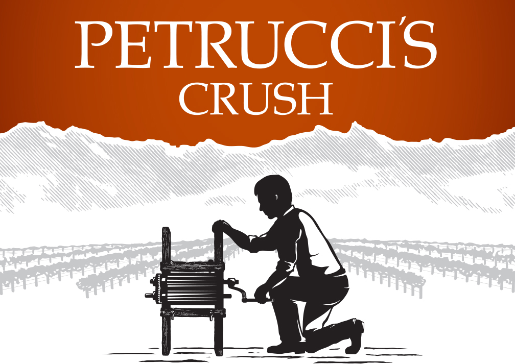 Fresno State - Petrucci's Crush Wine Label